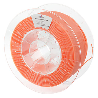 Spectrum 3D filament, Premium PLA, 1,75mm, 1000g, 80019, fluorescent orange