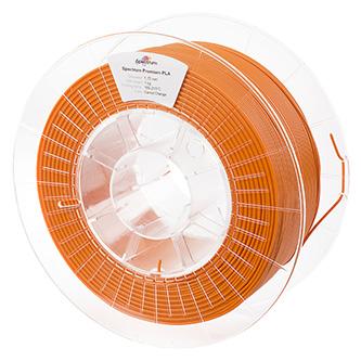 Spectrum 3D filament, Premium PLA, 1,75mm, 1000g, 80040, carrot orange