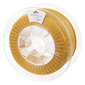 Spectrum 3D filament, Premium PLA, 1,75mm, 1000g, 80044, pearl gold