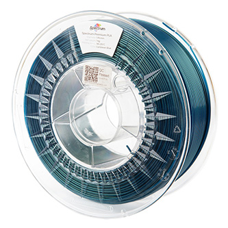 Spectrum 3D filament, Premium PLA, 1,75mm, 1000g, 80275, carribean blue