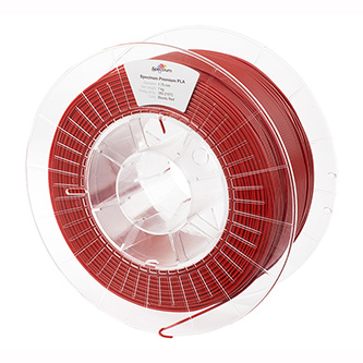 Spectrum 3D filament, Premium PLA, 1,75mm, 1000g, 80114, bloody red