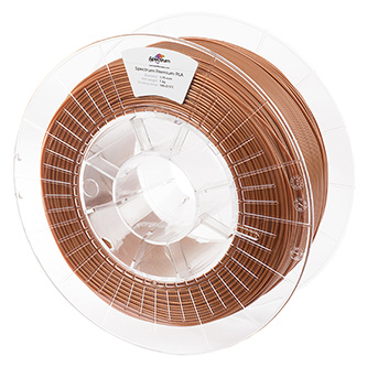 Spectrum 3D filament, Premium PLA, 1,75mm, 1000g, 80013, rust copper