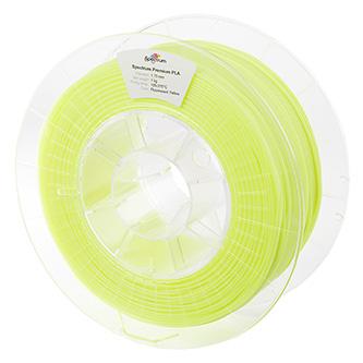 Spectrum 3D filament, Premium PLA, 1,75mm, 1000g, 80017, fluorescent yellow