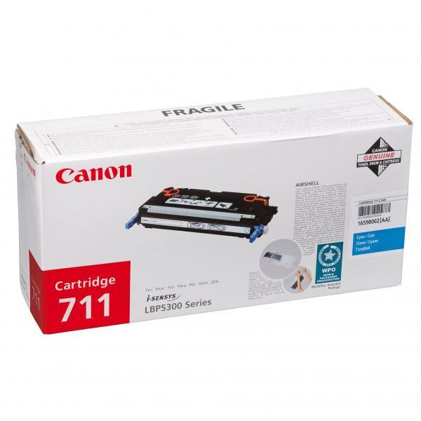 Canon CRG-711 azurový (cyan) originální toner