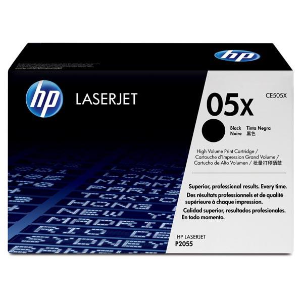 HP 05X CE505X čierný (black) originálny toner Originálny toner pre tlačiareň HP.   Prečo kúpiť našu originálnu náplň?      Originálny toner = záruka priamo od výrobcu tlačiarne 100% použitie v tlačiarni - bezproblémové fungovanie s vašou tlačiarňou Použitím originálnej náplne predlžujete životnosť tlačiarne Osvedčená špičková kvalita - vysokokvalitná a spoľahlivá tlač originálnou tlačovou kazetou od prvej do poslednej stránky Trvalé a profesionálne výsledky tlače - dlhodobá udržateľnosť tlače Kratšie zdržanie pri tlači stránok Garancia Vašej spokojnosti pri použití našej originálnej náplne Zabezpečujeme bezplatnú recykláciu originálnych náplní Zlyhanie náplne v menej ako 1% prípadov Jednoduchá a rýchla výmena náplne  Kód výrobca: CE505X