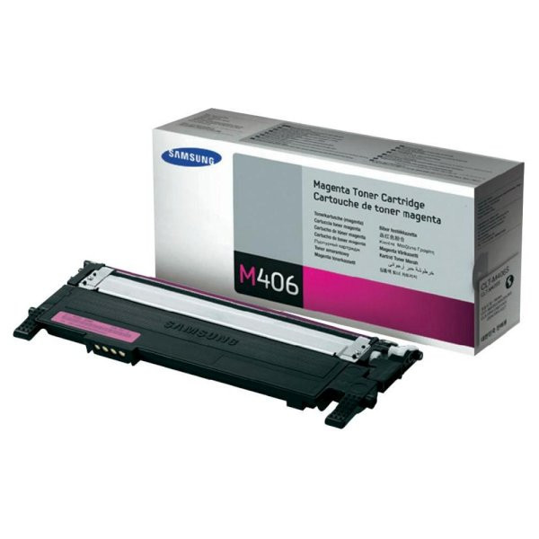 HP SU252A / Samsung CLT-M406S purpurový (magenta) originálny toner Originálny toner pre tlačiareň HP.   Prečo kúpiť našu originálnu náplň?      Originálny toner = záruka priamo od výrobcu tlačiarne 100% použitie v tlačiarni - bezproblémové fungovanie s vašou tlačiarňou Použitím originálnej náplne predlžujete životnosť tlačiarne Osvedčená špičková kvalita - vysokokvalitná a spoľahlivá tlač originálnou tlačovou kazetou od prvej do poslednej stránky Trvalé a profesionálne výsledky tlače - dlhodobá udržateľnosť tlače Kratšie zdržanie pri tlači stránok Garancia Vašej spokojnosti pri použití našej originálnej náplne Zabezpečujeme bezplatnú recykláciu originálnych náplní Zlyhanie náplne v menej ako 1% prípadov Jednoduchá a rýchla výmena náplne  Kód výrobca: SU252A
