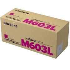 HP SU346A / Samsung CLT-M603L purpurový (magenta) originálny toner.   Prečo kúpiť našu originálnu náplň?      Originálny toner = záruka priamo od výrobcu tlačiarne 100% použitie v tlačiarni - bezproblémové fungovanie s vašou tlačiarňou Použitím originálnej náplne predlžujete životnosť tlačiarne Osvedčená špičková kvalita - vysokokvalitná a spoľahlivá tlač originálnou tlačovou kazetou od prvej do poslednej stránky Trvalé a profesionálne výsledky tlače - dlhodobá udržateľnosť tlače Kratšie zdržanie pri tlači stránok Garancia Vašej spokojnosti pri použití našej originálnej náplne Zabezpečujeme bezplatnú recykláciu originálnych náplní Zlyhanie náplne v menej ako 1% prípadov Jednoduchá a rýchla výmena náplne  Kód výrobca: SU346A