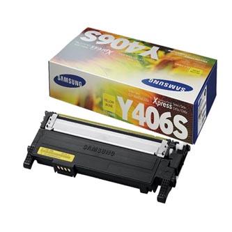 HP SU462A / Samsung CLT-Y406S žltý (yellow) originálny toner Originálny toner pre tlačiareň HP.   Prečo kúpiť našu originálnu náplň?      Originálny toner = záruka priamo od výrobcu tlačiarne 100% použitie v tlačiarni - bezproblémové fungovanie s vašou tlačiarňou Použitím originálnej náplne predlžujete životnosť tlačiarne Osvedčená špičková kvalita - vysokokvalitná a spoľahlivá tlač originálnou tlačovou kazetou od prvej do poslednej stránky Trvalé a profesionálne výsledky tlače - dlhodobá udržateľnosť tlače Kratšie zdržanie pri tlači stránok Garancia Vašej spokojnosti pri použití našej originálnej náplne Zabezpečujeme bezplatnú recykláciu originálnych náplní Zlyhanie náplne v menej ako 1% prípadov Jednoduchá a rýchla výmena náplne  Kód výrobca: SU462A
