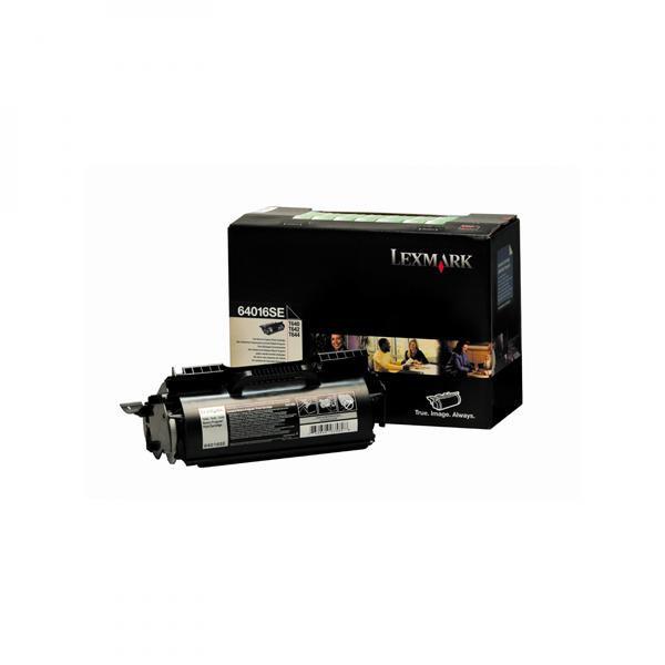 Lexmark originální toner 64016SE, black, 6000str., return, Lexmark T640, T642, T644