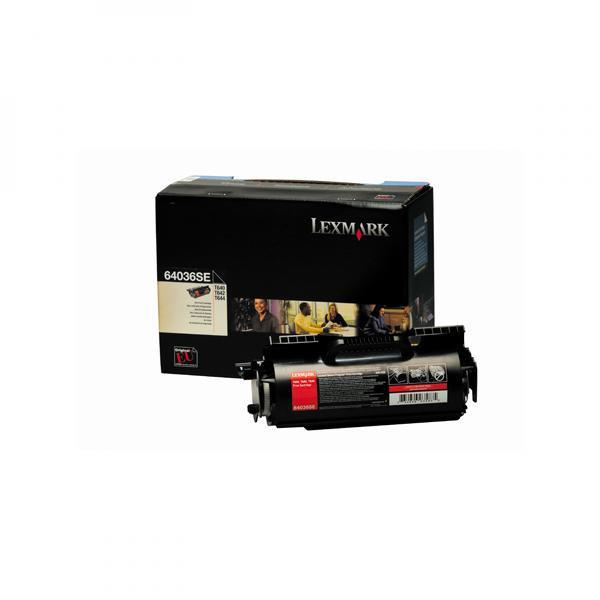 Lexmark originální toner 64036SE, black, 6000str., Lexmark T640, T642, T644
