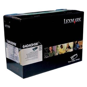 Lexmark originální toner 64040HW, black, Lexmark T640, T642, T644