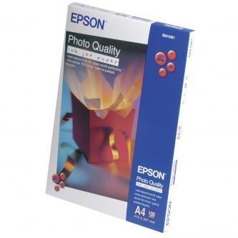 Epson C13S041061 Photo Quality InkJet Paper, foto papír, matný, bílý, A4, 104 g/m2, 720dpi, 100 ks,