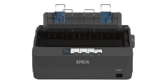 Epson tiskárna jehličková LQ-350, A4, 24 jehel, 347 zn/s, 1+3 kopii, USB 2.0, LPT, RS232