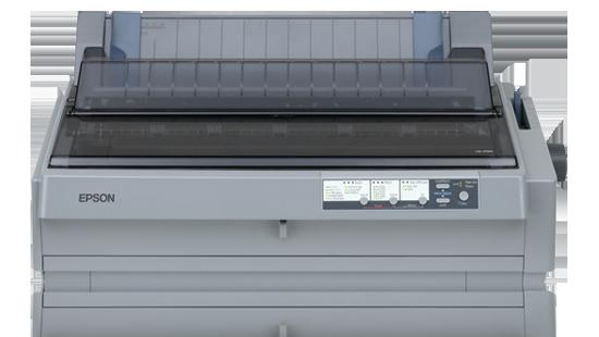 Epson tiskárna jehličková LQ-2190N, A3, 24 jehel, 576 zn/s, 1+5 kopii, LPT, USB, NET