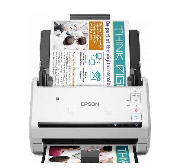 Epson skener WorkForce DS-570W, A4, dpi, ADF