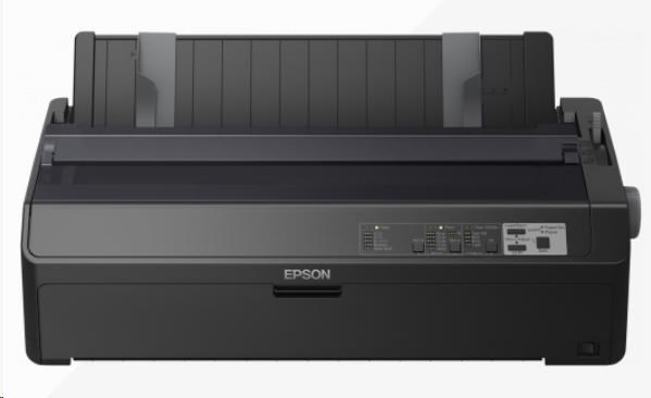 Epson tiskárna jehličková FX-2190IIN, A3, 18 jehel, high speed draft 612 zn/s, 1+6 kopii, USB 2.0, ETHERNET