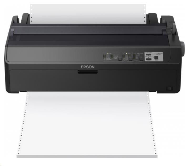 Epson tiskárna jehličková LQ-2090IIN, A4, 24 jehel, 1+6 kopii, USB 2.0, Ethernet, Energy Star