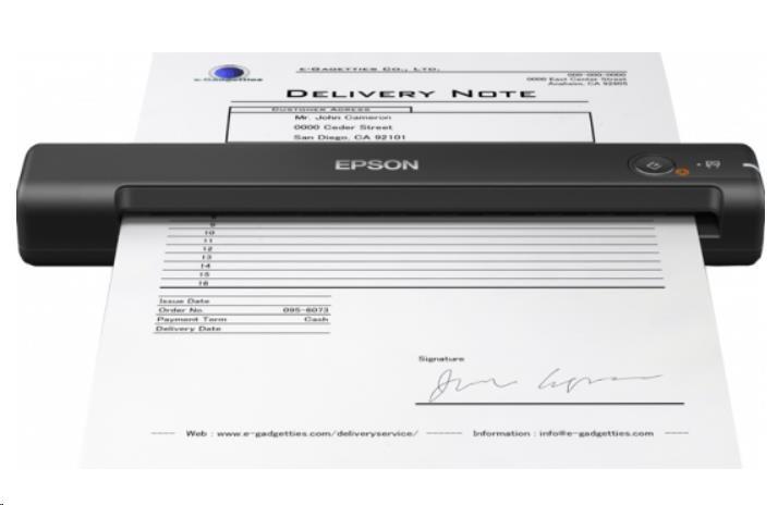 Epson skener WorkForce ES-50, A4, 600x600dpi, USB, mobilní