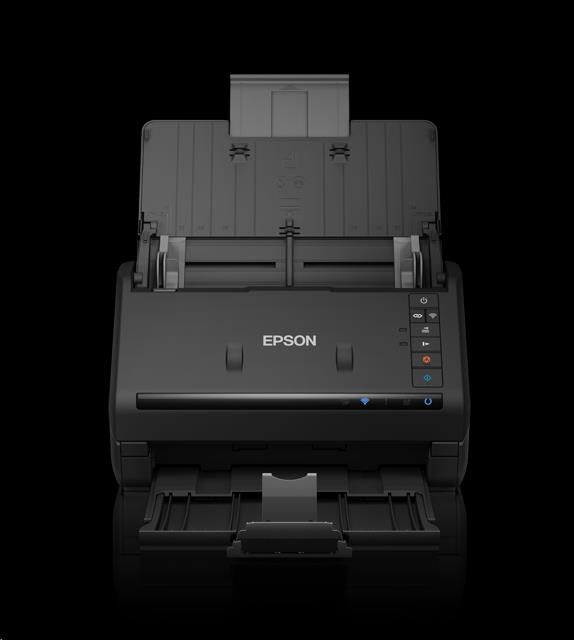 EPSON skener WorkForce ES-500WII, A4, 600x600dpi, 35 str/min, 30 bits Color Depth, USB 3.0, Wireless LAN