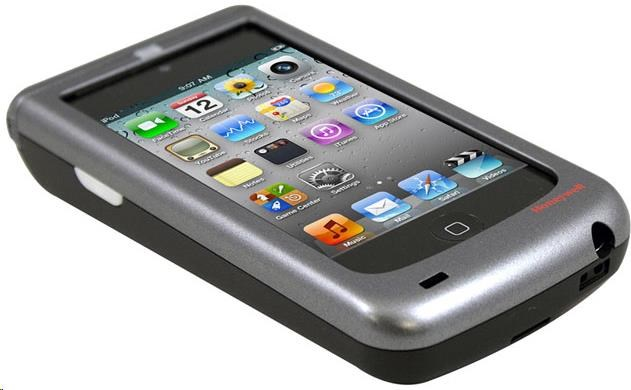 Honeywell Captuvo SL22 for Apple iPod touch 5, 2D, SR, kit (USB), black