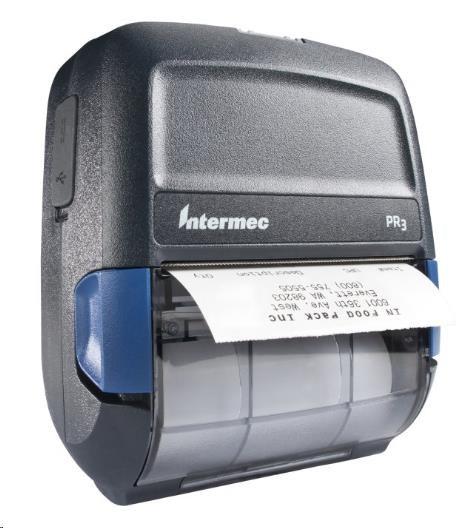 Honeywell Intermec PR3 PR3A300610020, USB, BT (iOS), 8 dots/mm (203 dpi), CPCL, Smart, zdroj