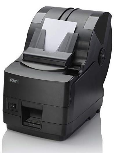 Star TSP1043U-24 39462410, USB, 8 dots/mm (203 dpi), řezačka, dark grey