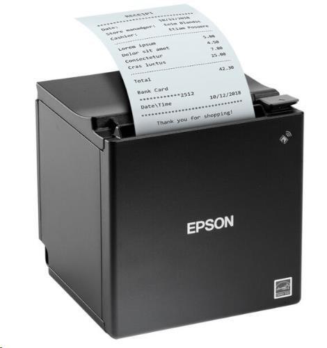 Epson TM-m30 CE95122, pokladní tiskárna, USB, Ethernet, 80mm, 8 dots/mm (203 dpi), ePOS, black