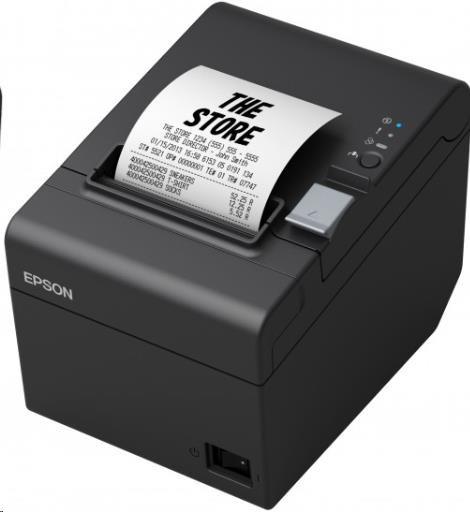 Epson TM-T20III C31CH51012, USB, Ethernet, 8 dots/mm (203 dpi), řezačka, černá