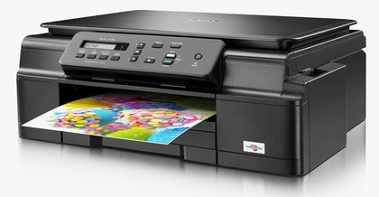 Brother multifunkce inkoustová DCP-J105 - A4, 11ppm, 64MB, 6000x1200, USB, GDI, WiFi, Ink Benefit, 1