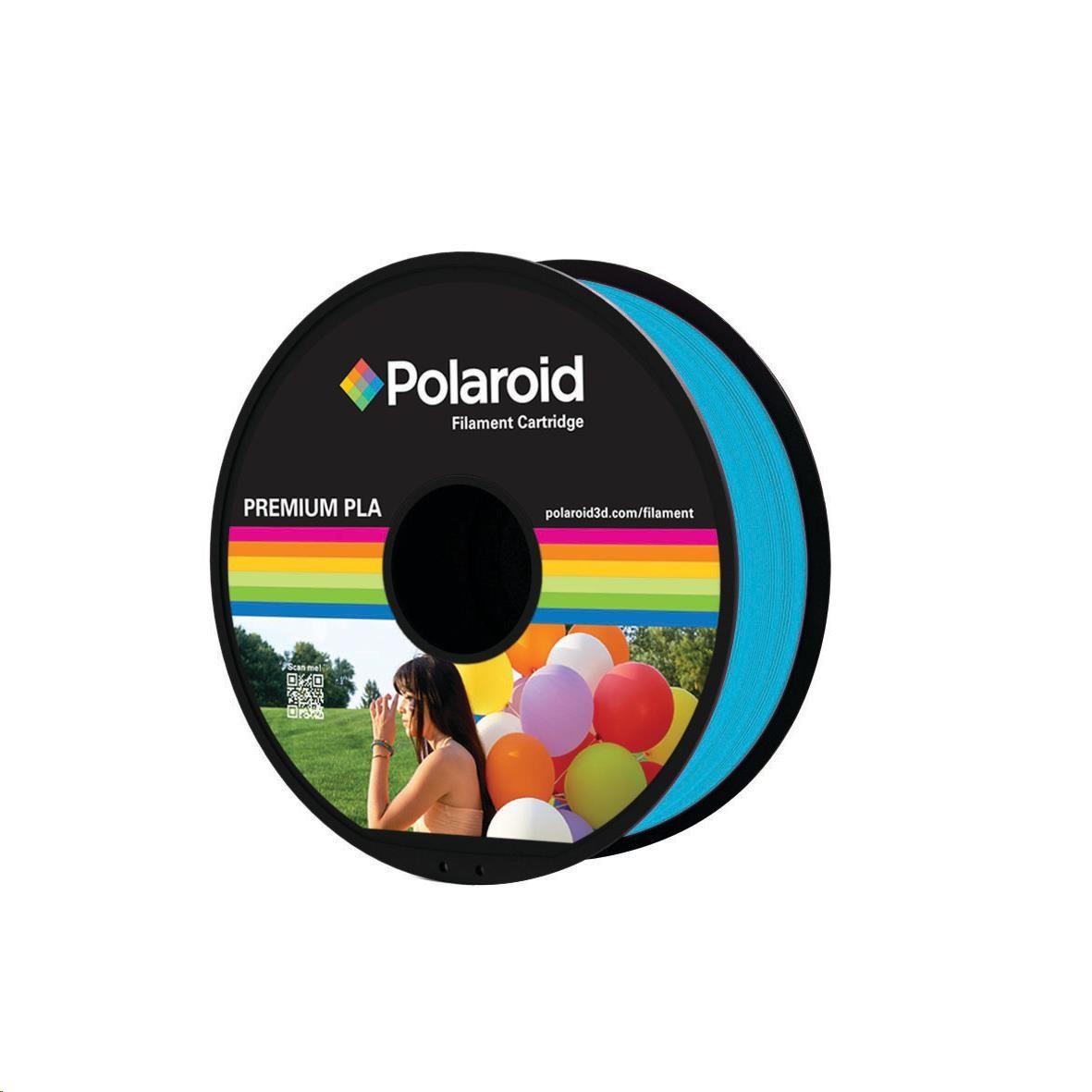Polaroid PL-8018-00 tisková struna 1kg Universal Premium PLA filament, 1.75mm/tisková struna 1kg - Light Blue