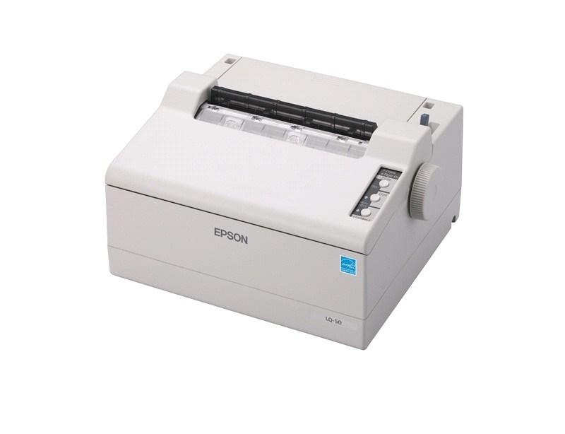 Epson tiskárna jehličková LQ-50, 6inch roll, 24 jehel, 360 zn/s, 1+2 kopii, USB, LPT