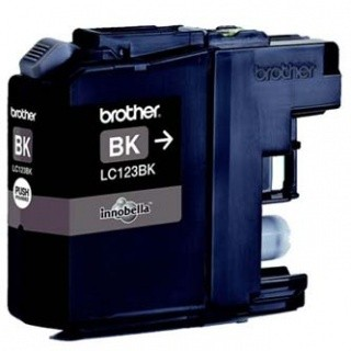 Brother LC-123BK dualpack čierna (black) originálna cartridge Originálne cartridge pre tlačiareň Brother.   Prečo kúpiť našu originálnu náplň Brother?      Originálne cartridge = záruka priamo od výrobcu tlačiarne 100% použitie v tlačiarni - spoľahlivá a bezproblém
