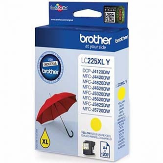 Brother LC-225XLY žlutá (yellow) originální cartridge