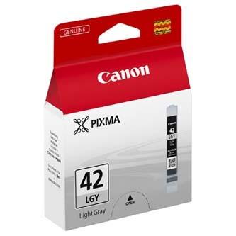 Levně Canon CLI-42LGY světle šedá (light grey) originální cartridge