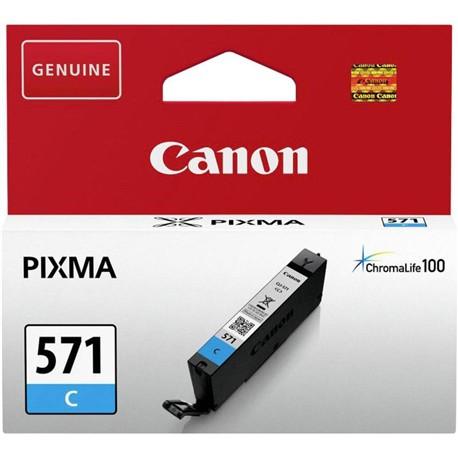 Canon CLI-571C azurová (cyan) originální cartridge