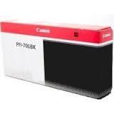 Levně Canon PFI-706Bk černá (black) originální cartridge