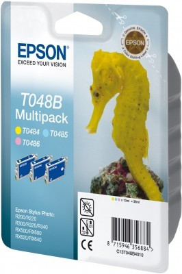Epson T048B40 T048B sada originální cartridge