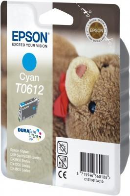 Epson_T0612_azurová_cyan_originální_cartridge