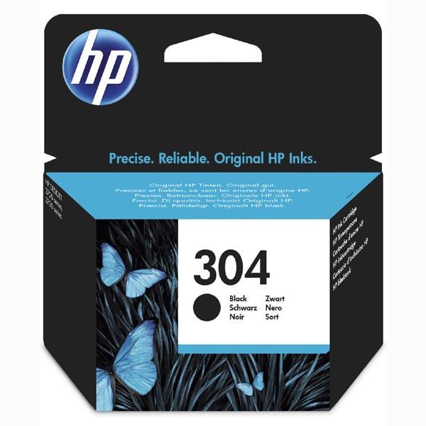 HP 304 N9K06AE čierna (black) originálna cartridge Originálne cartridge pre tlačiareň HP.   Prečo kúpiť našu originálnu náplň HP?      Originálne cartridge = záruka priamo od výrobcu tlačiarne 100% použitie v tlačiarni - spoľahlivá a bezproblémová tlač Použitím originálnej náplne predlžujete životnosť tlačiarne Osvedčená špičková kvalita - jasný a čitateľný text, jemná grafika, kvalitnejšie obrázky Použitie originálnej kazety ponúka rýchly a vysoký výkon a napriek tomu stabilné výsledky = EFEKTÍVNA TLAČ Jednoduchá inštalácia a údržba Zabezpečujeme bezplatnú recykláciu originálnych náplní Garancia Vašej spokojnosti pri použití našej originálnej náplne N9K06AE
