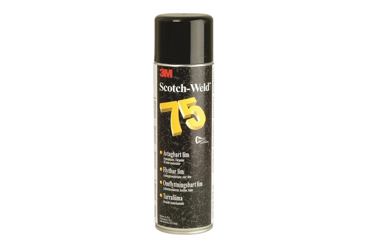 3M 75 Scotch-Weld™, přemístitelné lepidlo ve spreji, 500 ml