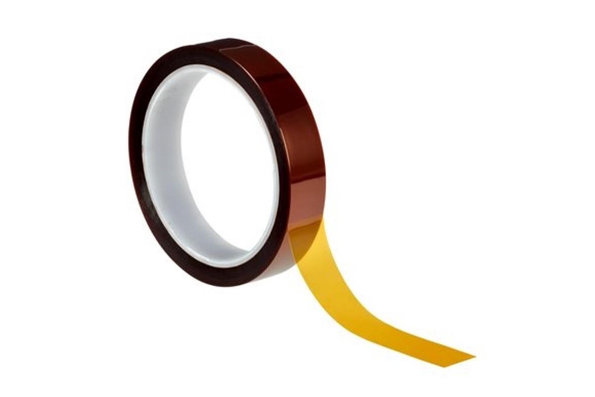 3M 5413 Kaptonová lepicí páska pro vysoké teploty, 25 mm x 33 m