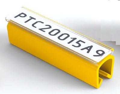 Levně Partex PTC10021A9, bílý, 200ks, (2.4-3.0 mm), PTC nacvakávací pouzdro na štítky