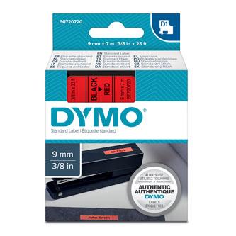 Dymo D1 40917, S0720720, 9mm x 7m, čierna tlač / červený podklad, originálna páska Originálna páska pre štítkovač Dymo. Prečo kúpiť našu originálnu pásku Dymo D1?    Originálna kazeta s páskou = záruka kvality priamo od výrobcu tlačiarne štítkov 100% použitie so štítkovačom - bezproblémové fungovanie Originálne samolepiace pásky zaručujú veľmi jednoduchú aplikáciu Osvedčená špičková kvalita - čitateľný a ostrý text Pásky sú odolné proti vode, UV žiareniu, oderu alebo extrémnym teplotám Jednoduchá a rýchla výmena Ideálne do kancelárie i domácnosti Garancia Vašej spokojnosti pri použití našej originálnej pásky 40917