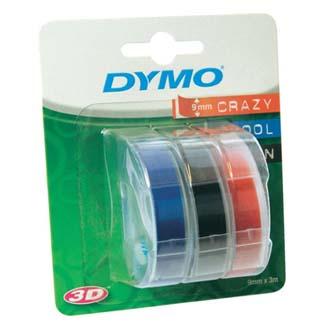 Dymo S0847750, 9mm x 3 m, biela tlač/čierný, modrý, červená, originálna páska Originálna páska pre štítkovač Dymo. Prečo kúpiť našu originálnu pásku Dymo D1?    Originálna kazeta s páskou = záruka kvality priamo od výrobcu tlačiarne štítkov 100% použitie so štítkovačom - bezproblémové fungovanie Originálne samolepiace pásky zaručujú veľmi jednoduchú aplikáciu Osvedčená špičko
