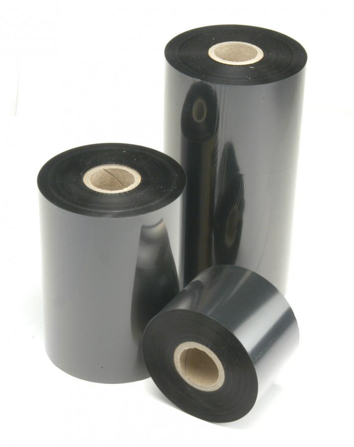 """Levně TTR páska, vosková (wax) 59mm x 450m, 1"""", IN černá"""