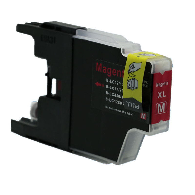 Brother LC-1240 / LC-1280 purpurová (magenta) kompatibilní cartridge