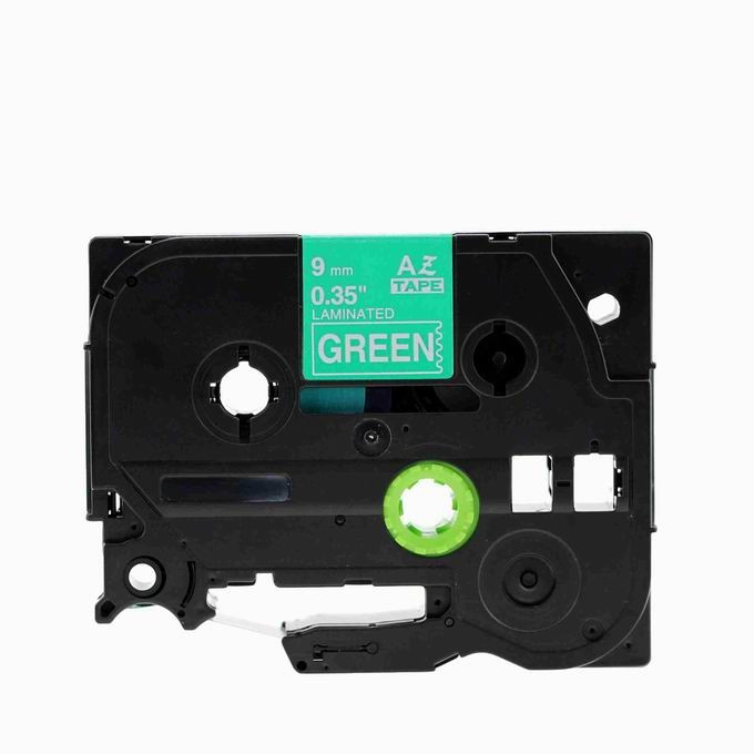 Kompatibilná páska s Brother TZ-725 / TZe-725, 9mm x 8m, biela tlač / zelený podklad Čo získate kúpou našej Chytré pásky?  Nižšia cena kompatibilnej pásky pre štítkovač Brother P-touch v porovnaní s originálnou páskou.Úspora Vašich finančných prostriedkov vo výške až 80 %.   Garancia spokojnosti.   Zaručujeme špičkovú kvalitu, overenú našimi dlhoročnými zákazníkmi.   Kompatibilné