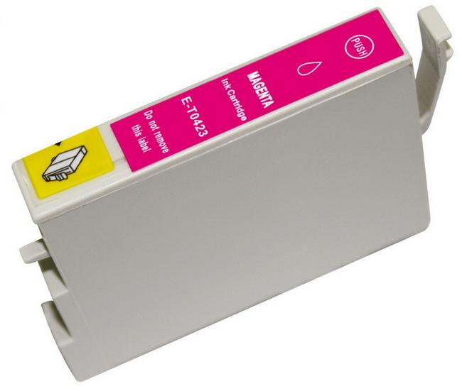 Epson T0423 purpurová (magenta) kompatibilní cartridge