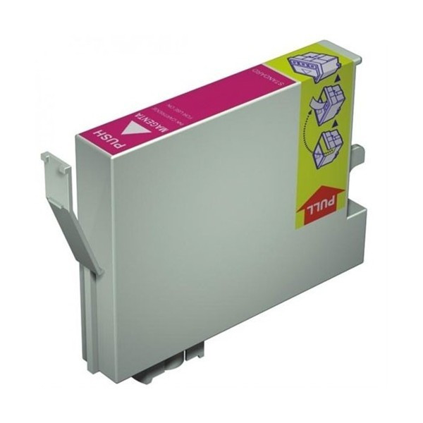 Epson T0713 purpurová (magenta) kompatibilní cartridge
