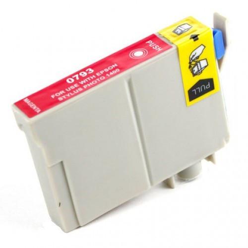 Epson T0793 purpurová (magenta) kompatibilní cartridge